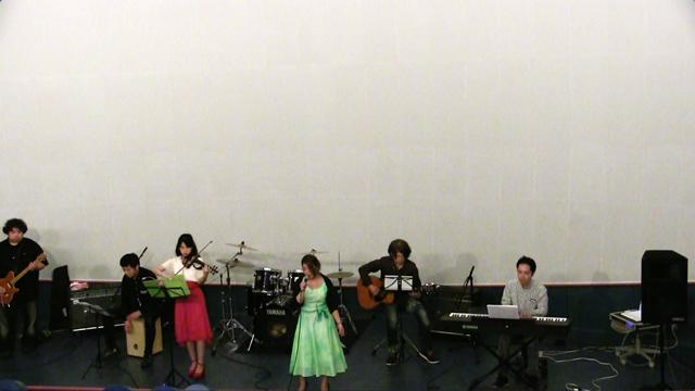 虹の国のメイシア(ショートver)ライブ at 文化パルク城陽 コスモホール